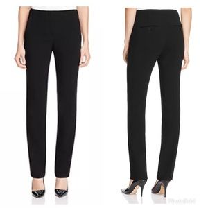 THEORY Litrella Black Straight Leg Dress Pants NWT
